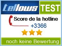 tellows Bewertung +3366